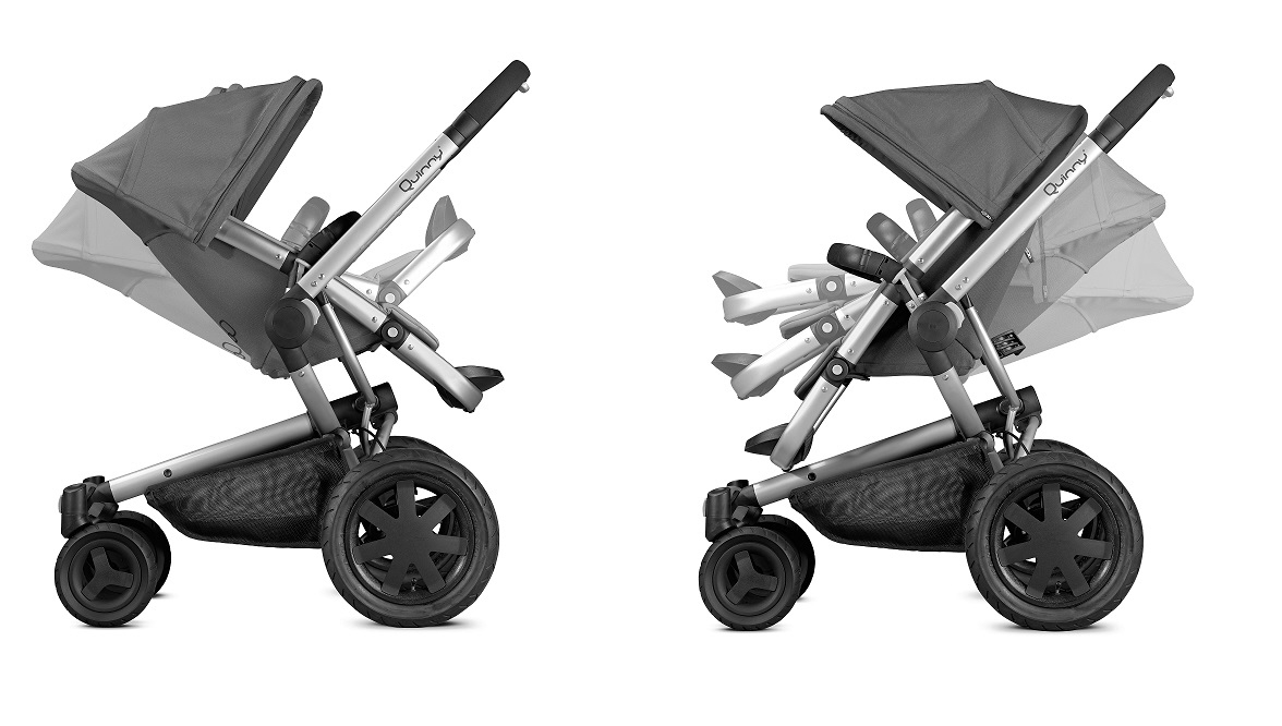 Quinny pushchair buzz xtra 4 2018 grey gravel buy at for Housse quinny buzz