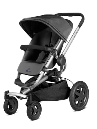 Quinny Pushchair Buzz Xtra 4 Rocking Black 2019 - large image