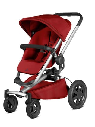 Quinny Pushchair Buzz Xtra 4 Red Rumour 2019 - large image