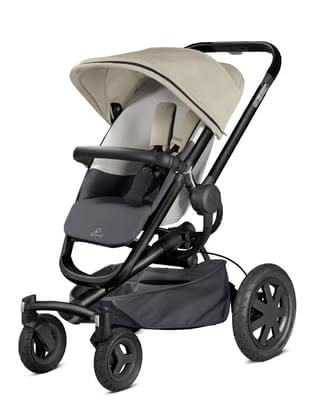 Quinny Buzz Xtra 4 stroller Reworked Grey 2016 - large image