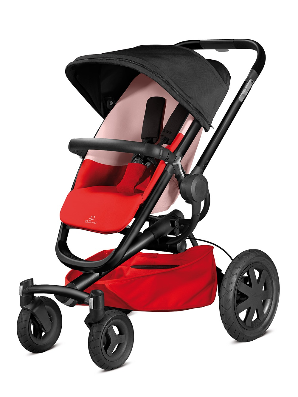 Quinny Buzz Xtra 4 Stroller Reworked Red 2016 on safety 1st car seat stroller