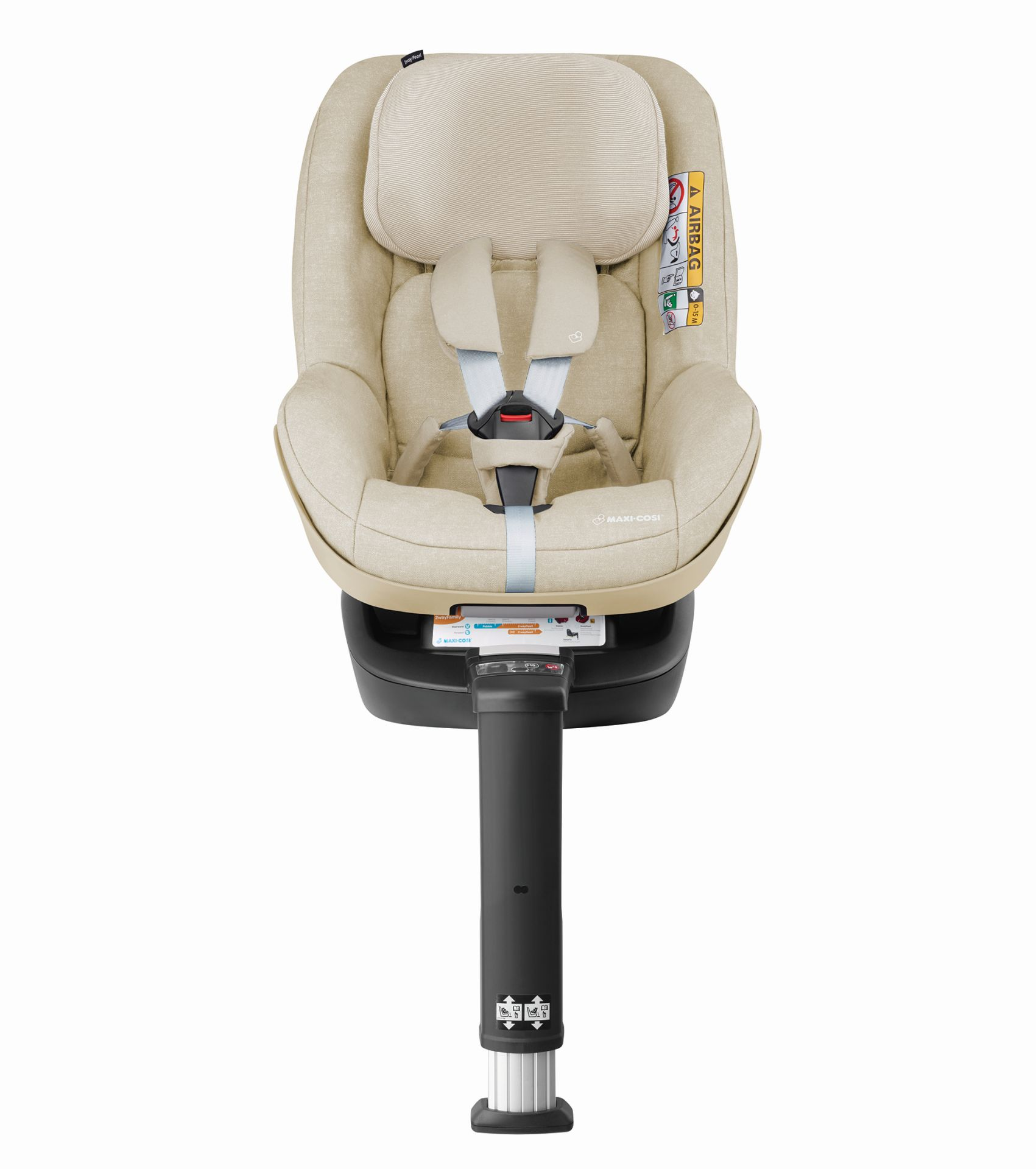 maxi cosi 2 way pearl incl 2 way fix 2018 nomad sand buy at kidsroom car seats isofix. Black Bedroom Furniture Sets. Home Design Ideas