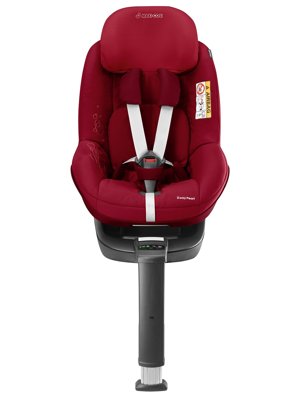 maxi cosi 2 way pearl incl 2 way fix 2017 robin red buy at kidsroom car seats isofix. Black Bedroom Furniture Sets. Home Design Ideas