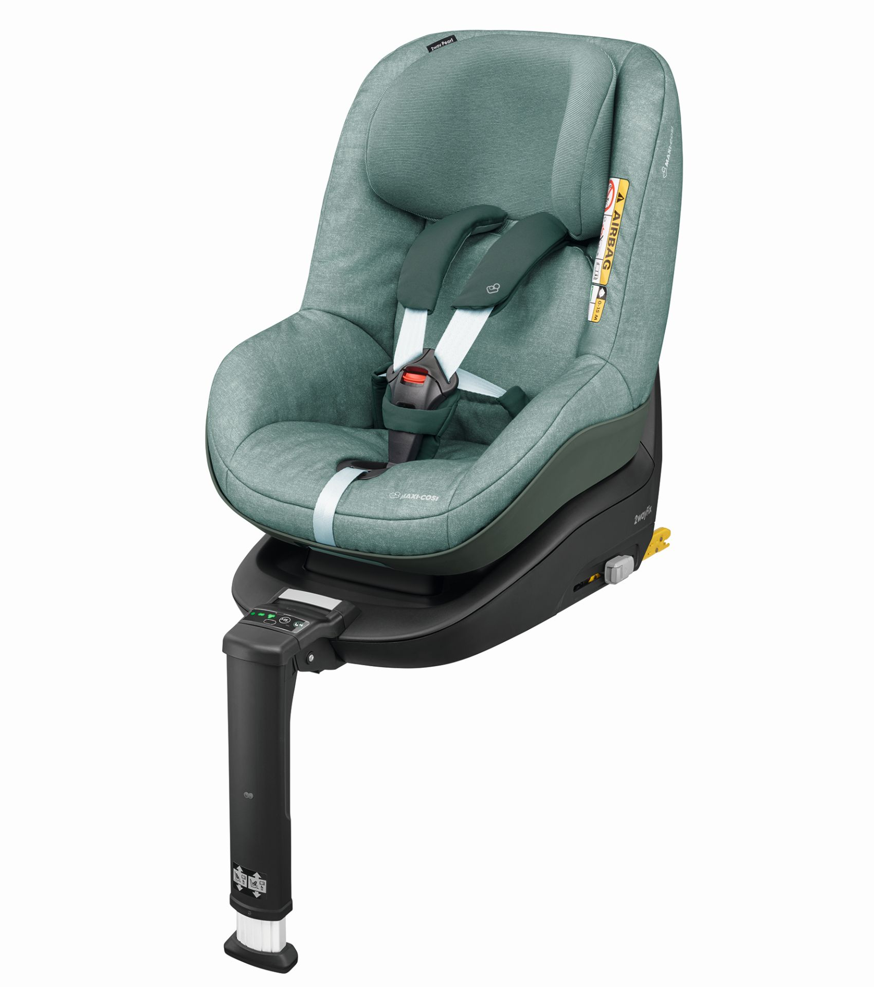 maxi cosi 2 way pearl incl 2 way fix 2017 nomad green buy at kidsroom car seats isofix. Black Bedroom Furniture Sets. Home Design Ideas