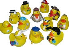 Bath duck -  * The cute rubber duck makes for bathing fun and is a must for any bath