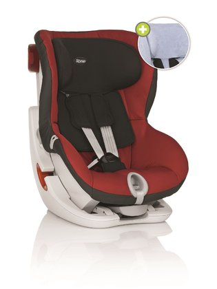 Römer Child car seat King II + summer cover Chili Pepper 2015 - large image
