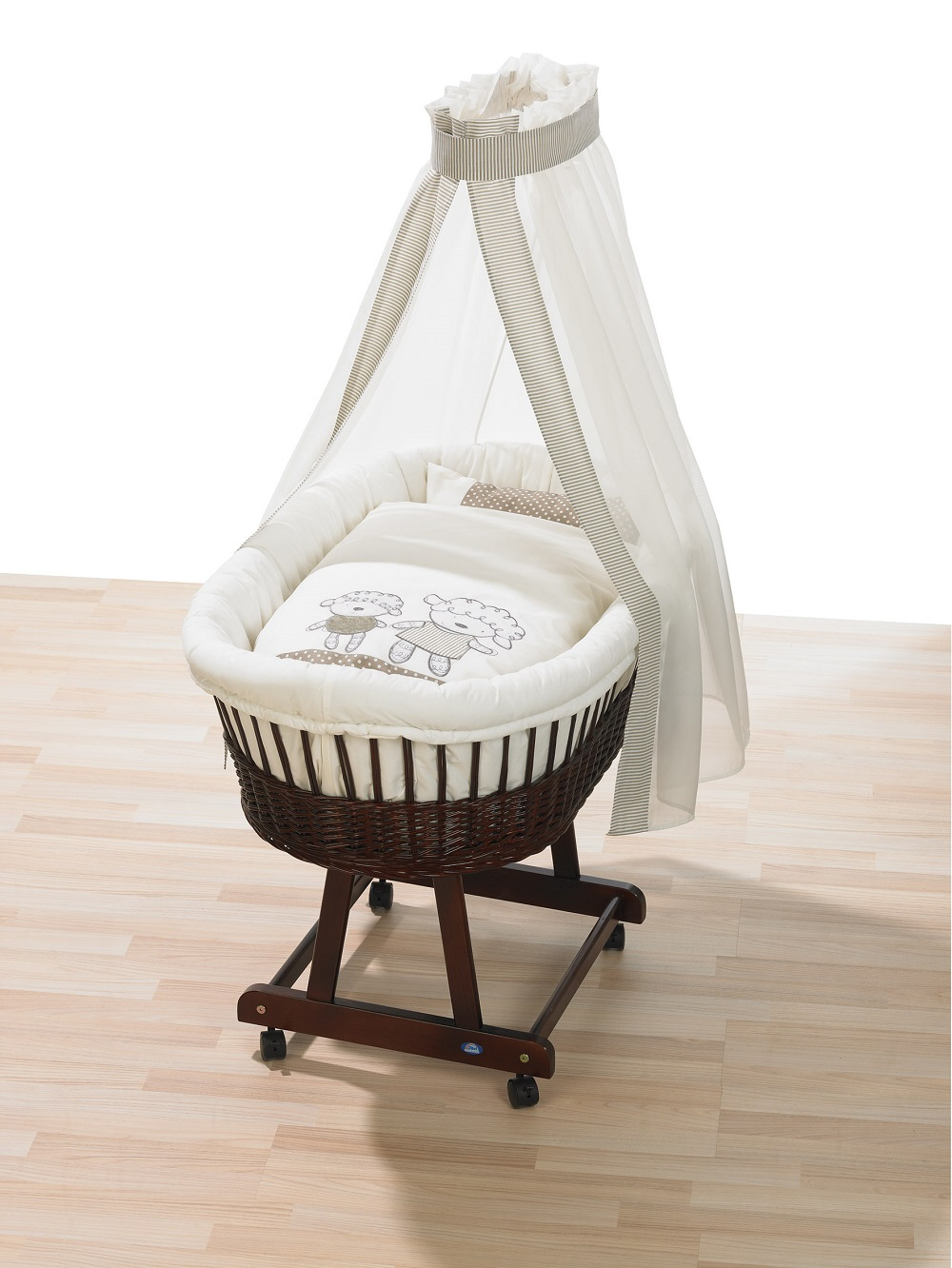 Alvi Bassinet Set Little Lamb Beige 2015 Buy At