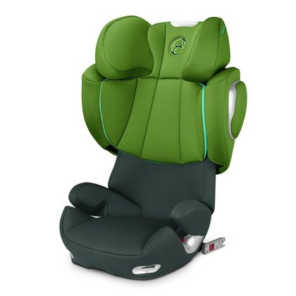 Cybex Child car seat Solution Q2-Fix Hawaii - green 2015 - large image