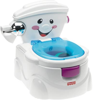 Fisher-Price Baby Gear My First Toilet -  * The Baby Gear First toilet by Fisher-Price will make the transition from potty to toilet as easy and fun for your child as possible!