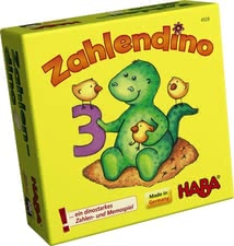 Haba Number dino -  * The Haba number Dino guarantees your sweetheart maximum play and learning fun