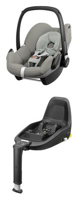 Maxi-Cosi Infant Car Seat Pebble including 2WayFix -  * The Maxi-Cosi Pebble baby car seat offers you and your favorite in combination with the 2WayFix a maximum of safety and comfort