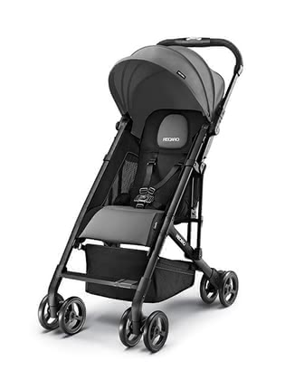 Recaro Buggy Easylife -  * The Recaro Buggy Easylife is the ideal companion for mastering everyday life with a toddler. Featuring a low weight of only 5.7 kg as well as a compact folded size, the buggy can be stored and transported easily and quickly - perfect for traveling or a tour by bus or train.