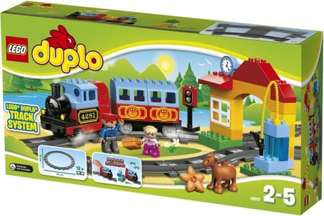 LEGO Duplo Train Starter Set -  * The LEGO Duplo Train Starter Set is perfect for beginners small train driver