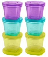 NUK Fresh Foods Storage Containers -  * Always having a fresh meal for your child ready at hand – with the NUK Fresh Foods storage containers this will no longer be a problem.
