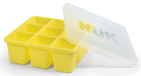 NUK Fresh Foods Freezer Tray -  * The NUK freezer tray is an innovative shape for freezing freshly-prepared baby food: It is divided into nine little cubes, each holding 60ml.