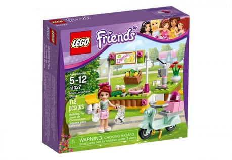 LEGO Friends Mia´s lemonade stand 2014 - large image