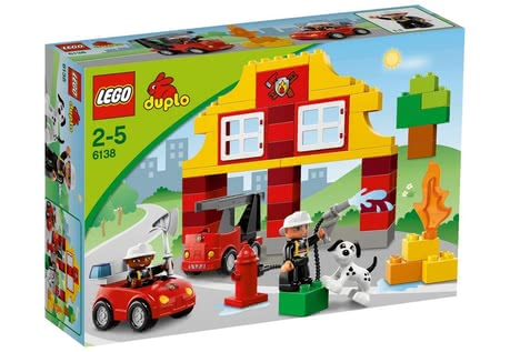 LEGO Duplo My First Fire station 2014 - large image