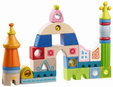 Haba Building Blocks Seville -  * Ultimate fun for any discoverer is guaranteed with this colourful set of building blocks.