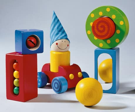 "Haba ""My First Building Blocks"" -  * Send your little one on an exciting adventure by getting him or her this fabulous set ""My First Building Blocks"" by Haba."