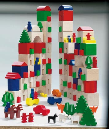 Haba Building Block Little Amsterdam - large image
