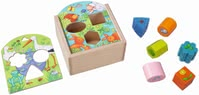 "Haba Shape Sorting Box ""Animals"" -  * Little animal lovers will be fascinated by this cute shape sorting box by Haba."