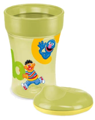 NUK Sesame Street Easy Learning 1-2-3 System CUP 3 - The NUK easy Learning Cup 3 thrilled young and old with its great themes from Sesame Street.
