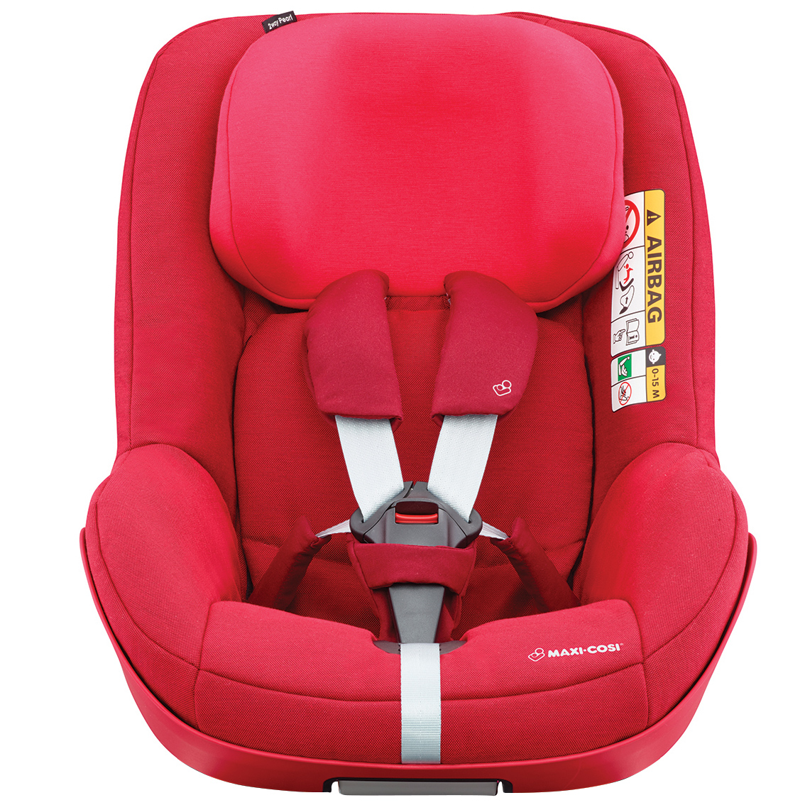 maxi cosi safety seat 2way pearl 2018 vivid red buy at. Black Bedroom Furniture Sets. Home Design Ideas