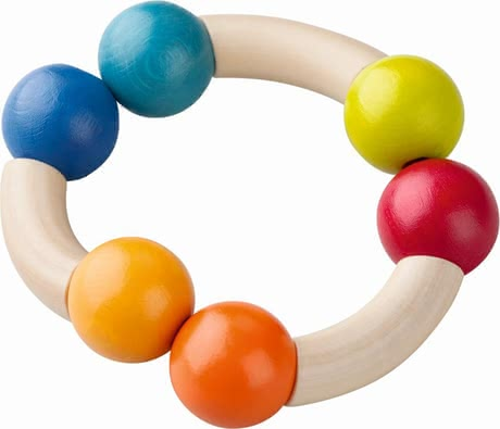 "Haba Clutching Toy ""Magic Arch"" -  * Make your little one smile with the cute clutching toy ""Magic Arch"" by Haba."