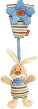Sigikid hanging toy Brown Bunny 2015 - large image