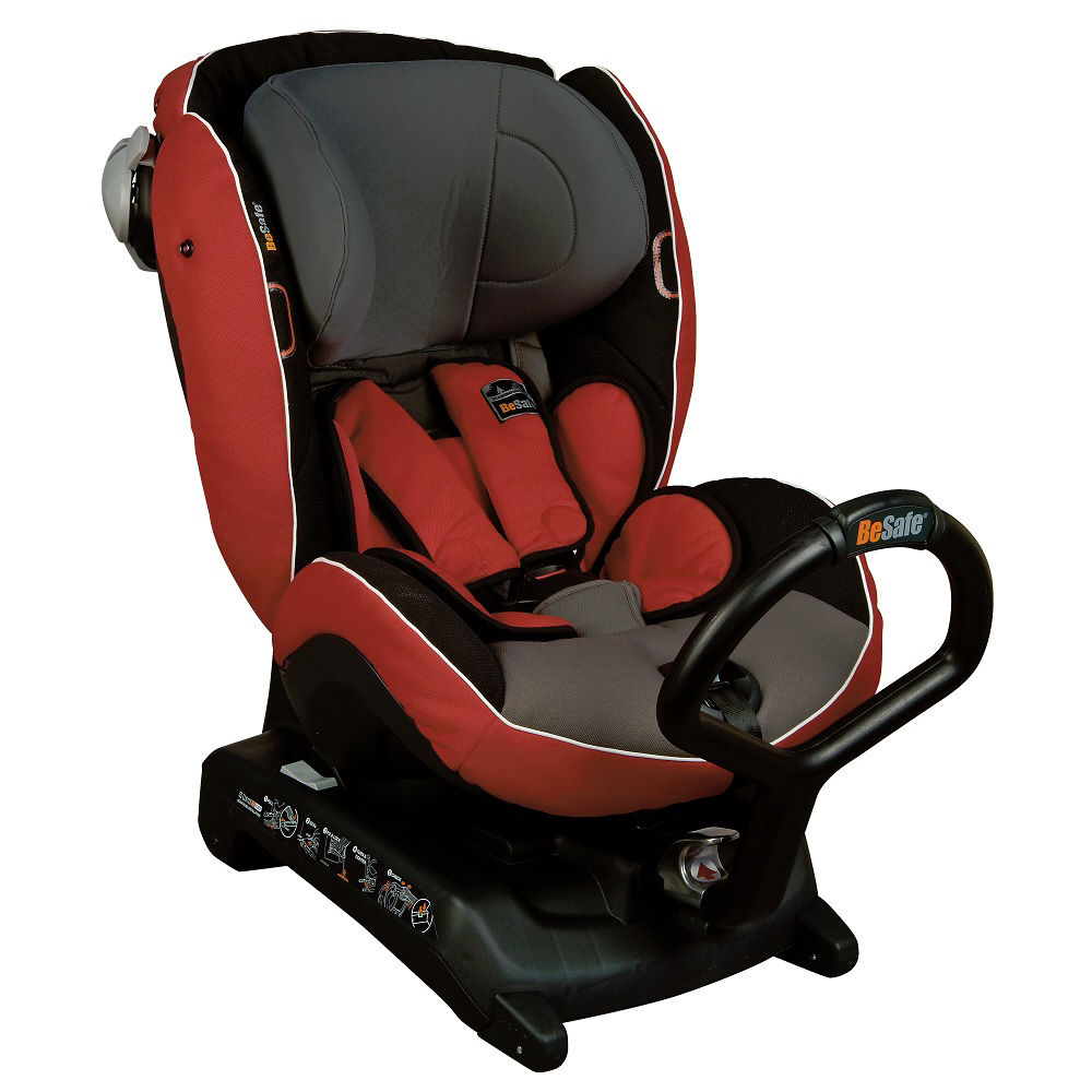 besafe rear facing child car seat izi combi x3 isofix 2015 red grey buy at kidsroom car seats. Black Bedroom Furniture Sets. Home Design Ideas