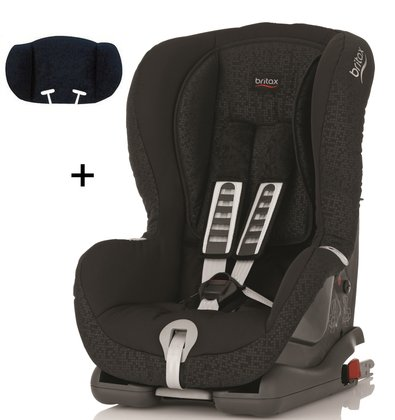 Britax Römer Child car seat Duo Plus Trendline incl. head support Black Thunder 2015 - large image