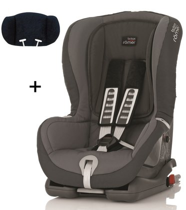 Britax Römer Child car seat Duo Plus Trendline incl. head support Stone Grey 2015 - large image