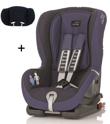 Britax Römer Child car seat Duo Plus Trendline incl. head support Crown Blue 2015 - large image
