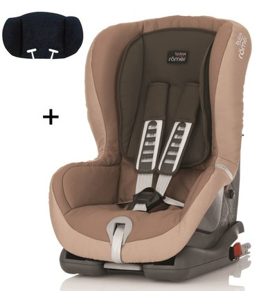 Britax Römer Child car seat Duo Plus Trendline incl. head support Taupe Grey 2015 - large image