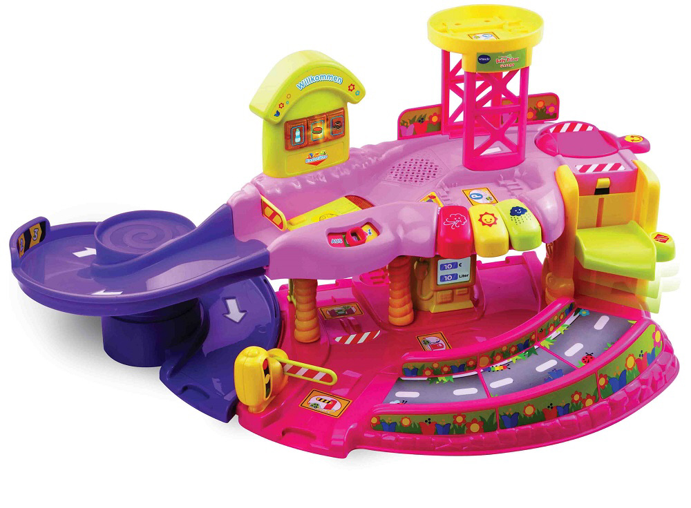 V Tech Garage : Vtech toot toot garage pink buy at kidsroom toys toys