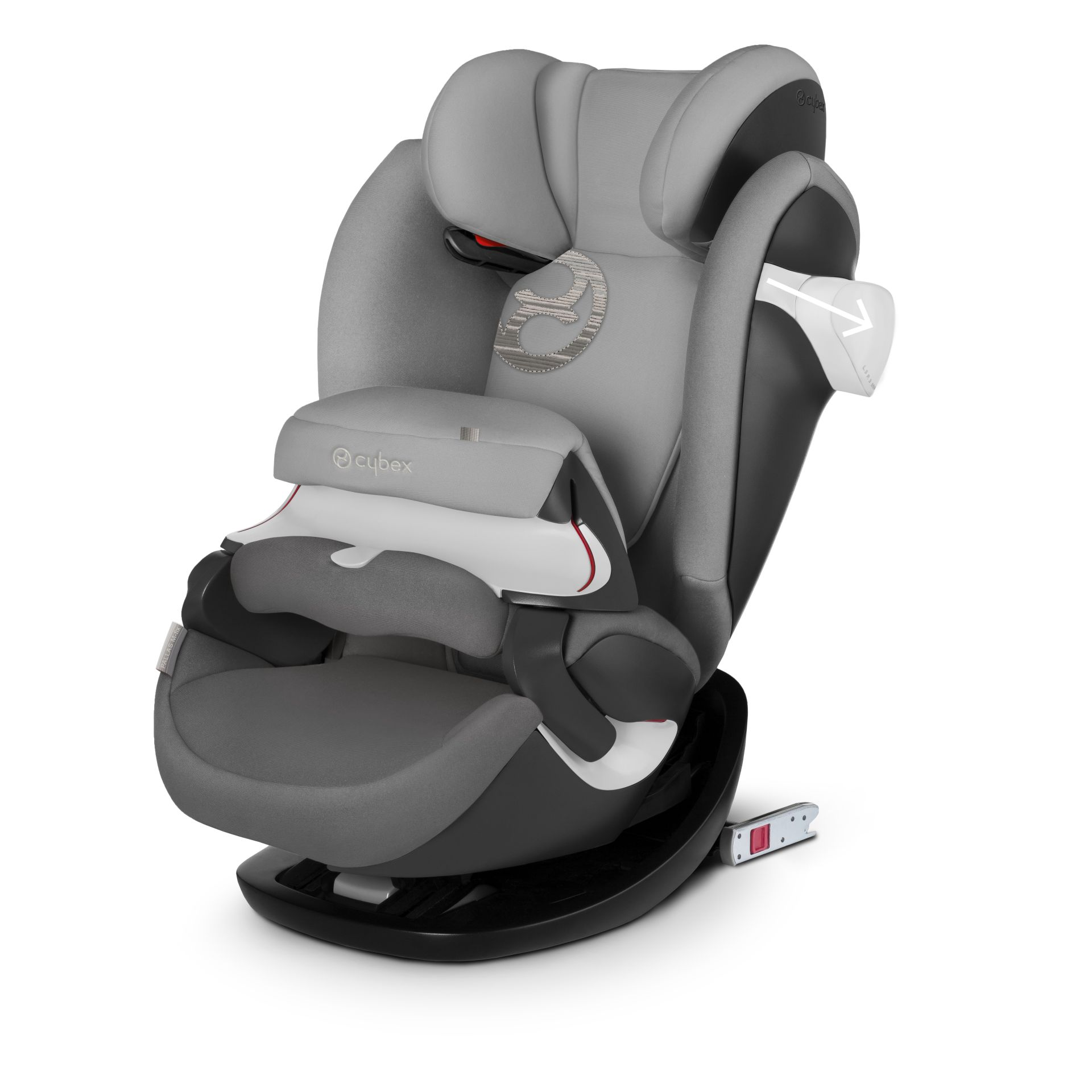 Cybex Child Car Seat Pallas M Fix Purple Rain Purple Kidsroom De