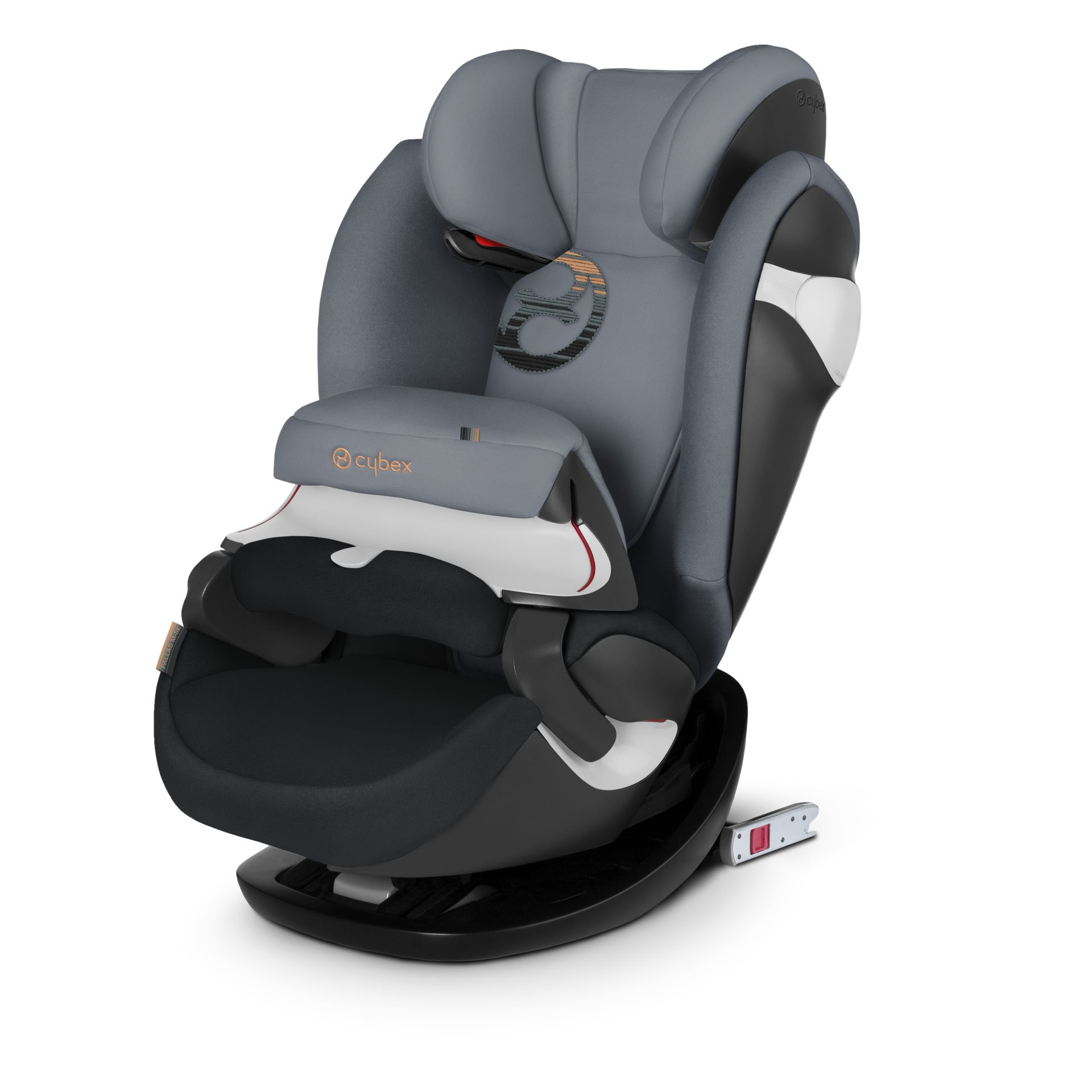 cybex child car seat pallas m fix 2018 pepper black dark grey buy at kidsroom car seats. Black Bedroom Furniture Sets. Home Design Ideas