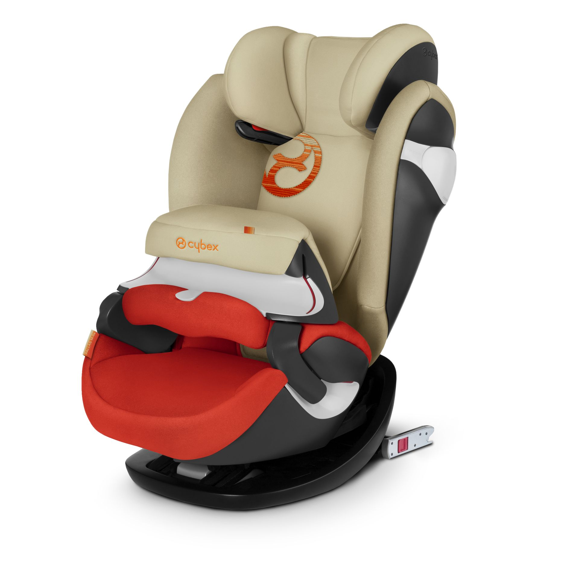 cybex child car seat pallas m fix 2018 autumn gold burnt