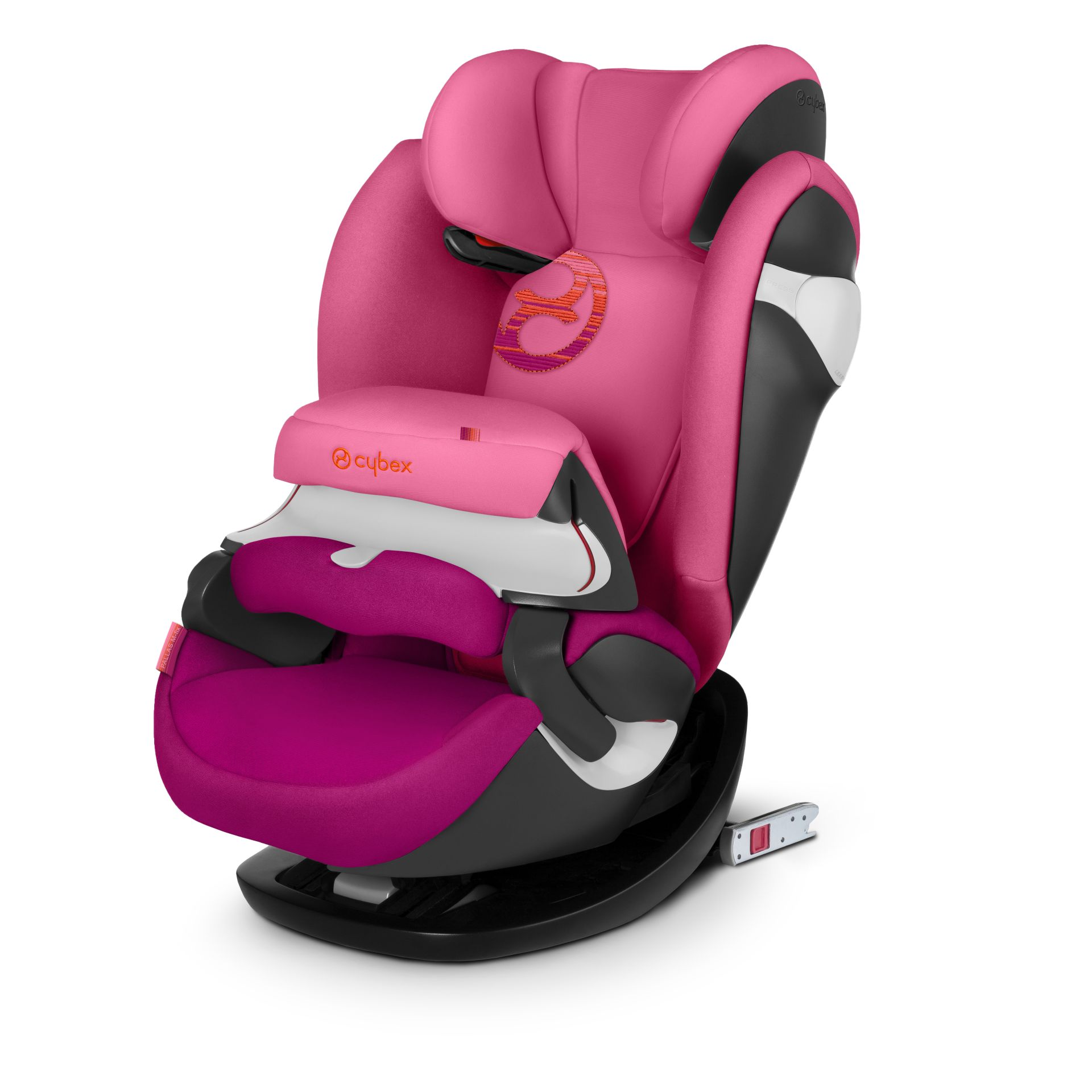 cybex child car seat pallas m fix 2018 passion pink purple buy at kidsroom car seats. Black Bedroom Furniture Sets. Home Design Ideas