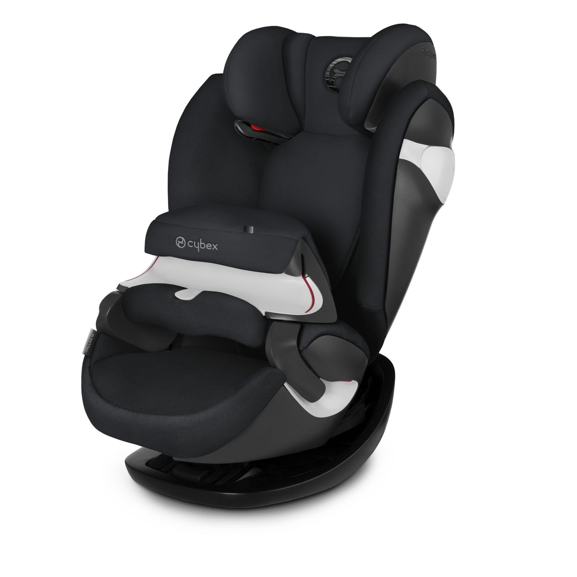 Cybex Child Car Seat Pallas M 2018 Lavastone Black - black ...