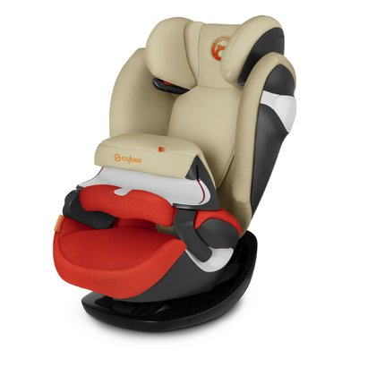 Cybex Child Car Seat Pallas M Autumn Gold - burnt red 2018 2018 - large image
