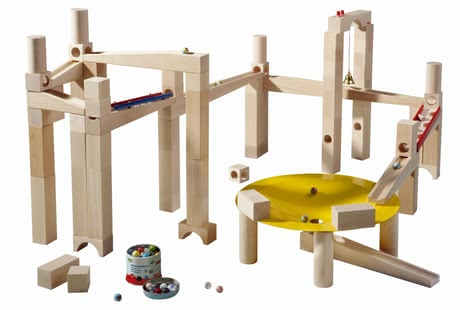 Haba Ball Track Master Building Set -  * A ball track is one of the top toys and an absolute must-have for every little builder at the age of three and older.