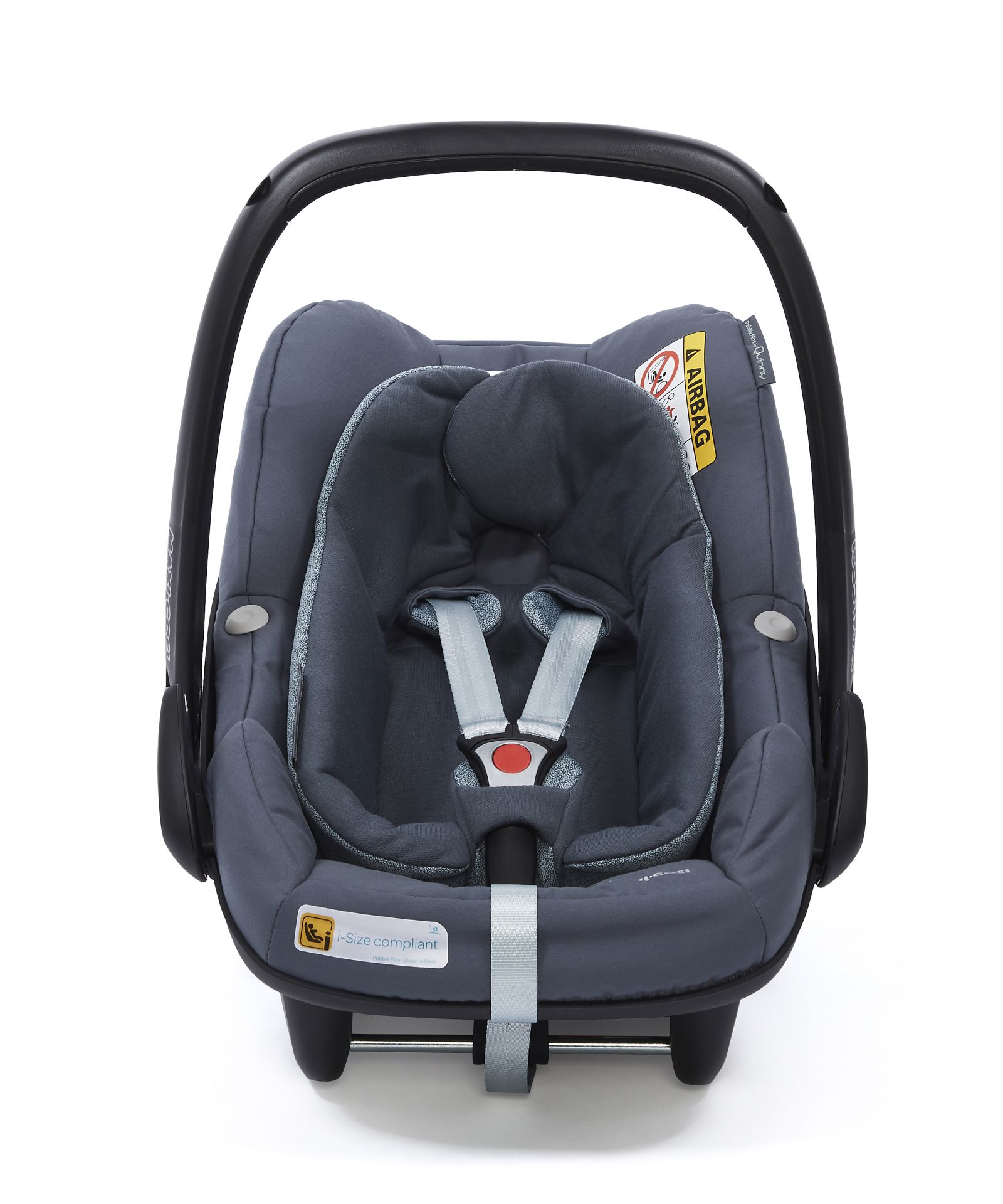maxi cosi infant car seat pebble plus 2018 graphite buy at kidsroom car seats. Black Bedroom Furniture Sets. Home Design Ideas
