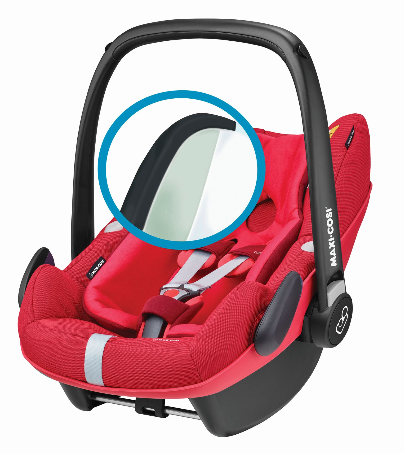 maxi cosi infant car seat pebble plus 2018 vivid red buy. Black Bedroom Furniture Sets. Home Design Ideas
