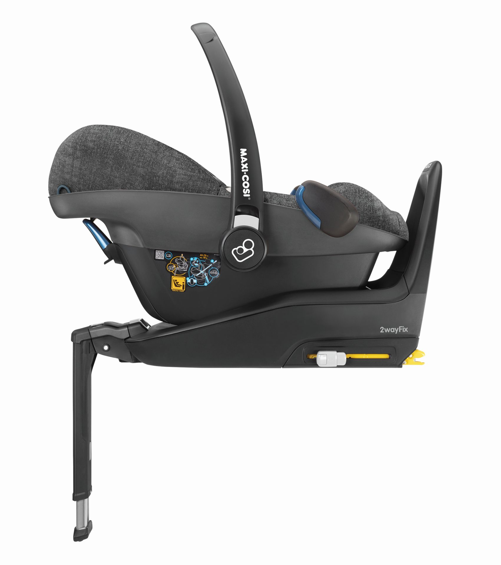 maxi cosi infant car seat pebble plus 2019 nomad black. Black Bedroom Furniture Sets. Home Design Ideas