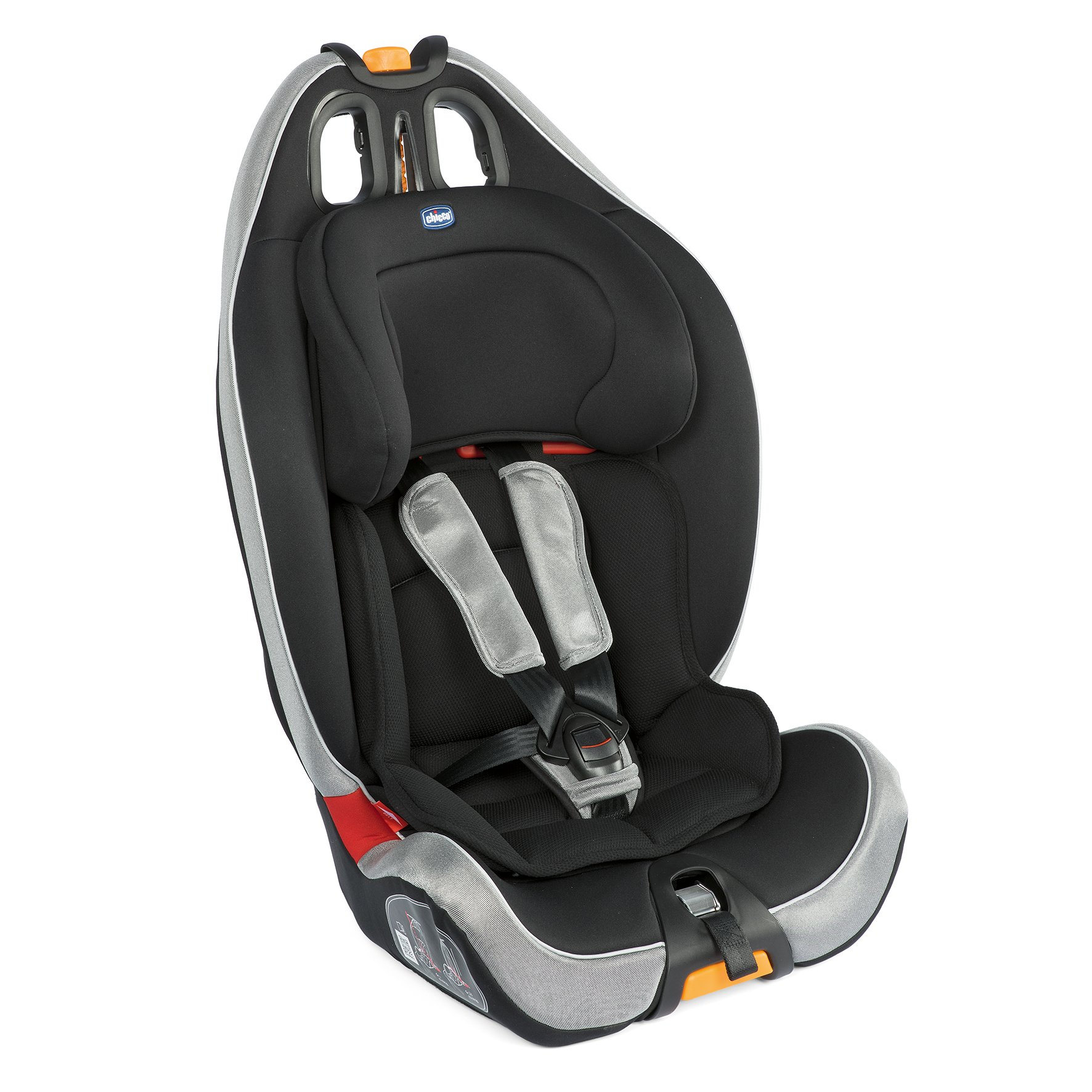 Chicco Child Car Seat Gro Up 123 POLAR SILVER 2019