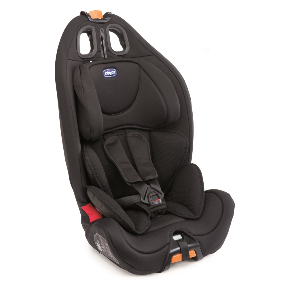 Chicco car seat gro up 1 2 3 2016 black buy at kidsroom for Chaise 3 en 1 chicco