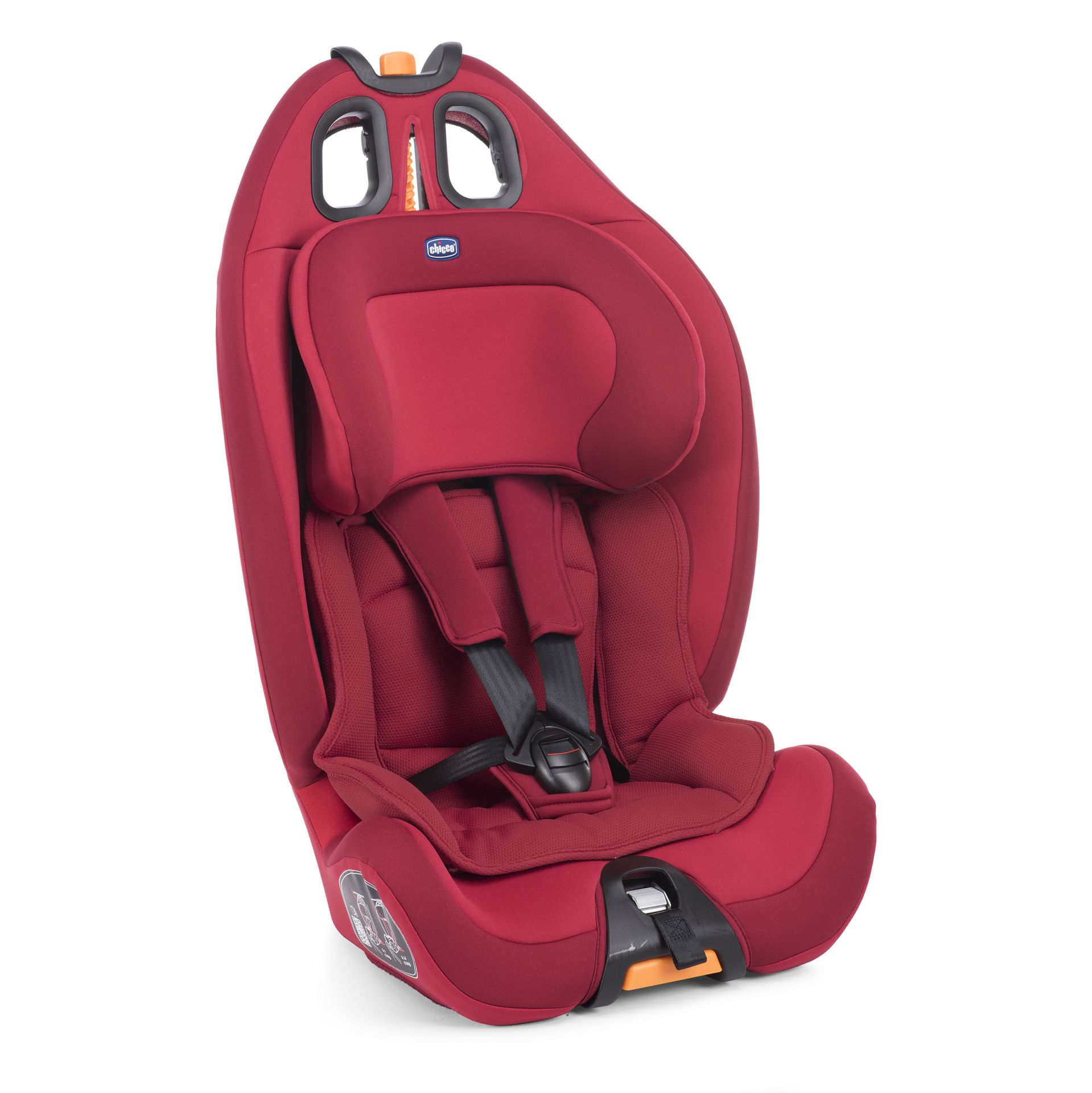 chicco car seat gro up 1 2 3 2018 red passion buy at kidsroom car seats. Black Bedroom Furniture Sets. Home Design Ideas