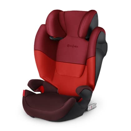 Cybex Child car seat Solution M-Fix Rumba Red - dark red 2020 - large image