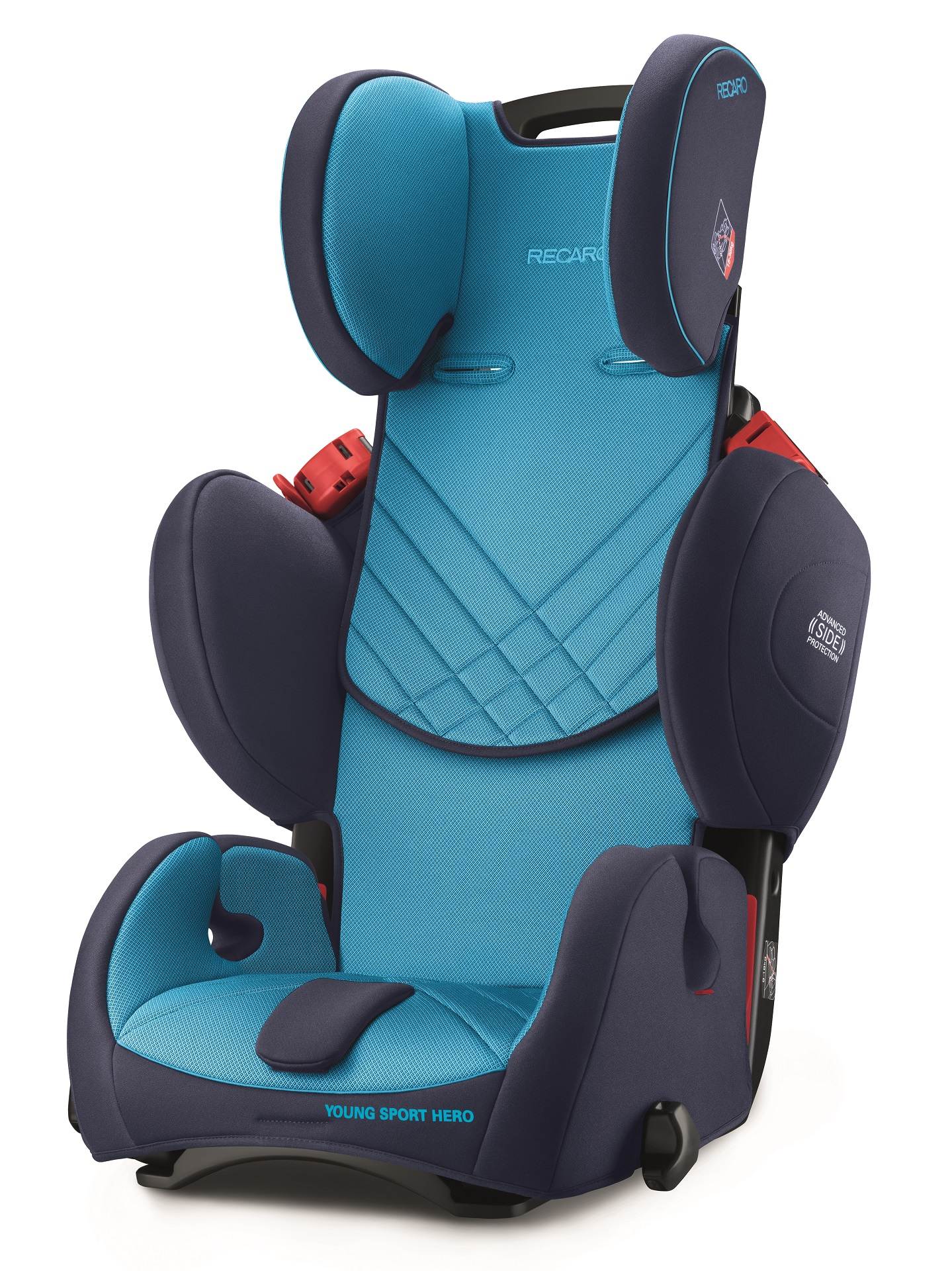 recaro child car seat young sport hero 2018 xenon blue buy at kidsroom car seats. Black Bedroom Furniture Sets. Home Design Ideas